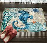 Абсорбирующий коврик «Морской конек» 40×60 см, фото 2