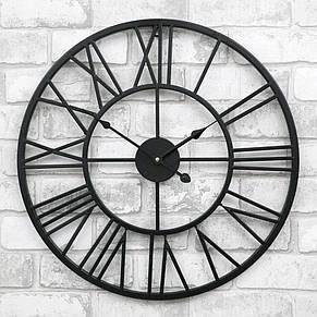 Часы настенные металлические в стиле лофт - Milano 50, фото 2