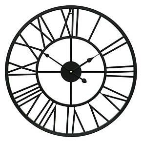 Часы настенные металлические в стиле лофт - Milano 50, фото 3