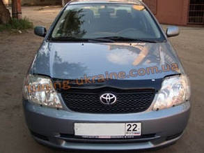 Дефлекторы капота Sim для Toyota Runx 2000-06
