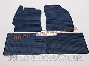 Коврики в салон резиновые Politera 4шт. для Toyota Auris 1 2006-2012
