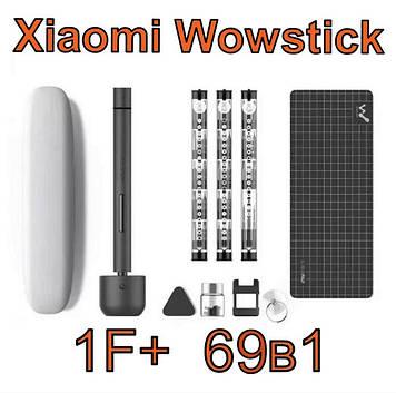 69 в 1, Электрическая отвертка XIAOMI Wowstick 1F+ с аккумулятором