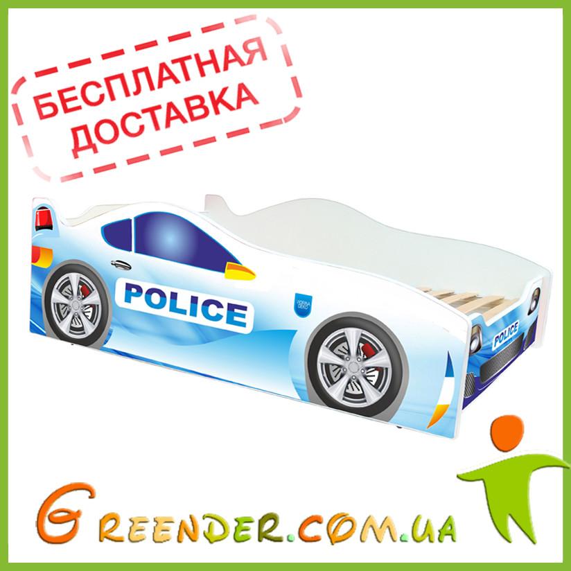 Дитяче ліжко кровать машина Evolution Полицейска Police