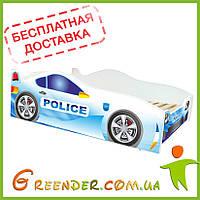 Дитяче ліжко кровать машина Полицейска Police