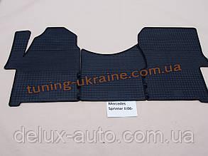Коврики в салон резиновые Politera 3шт. для Mercedes Sprinter W906 2006-2013