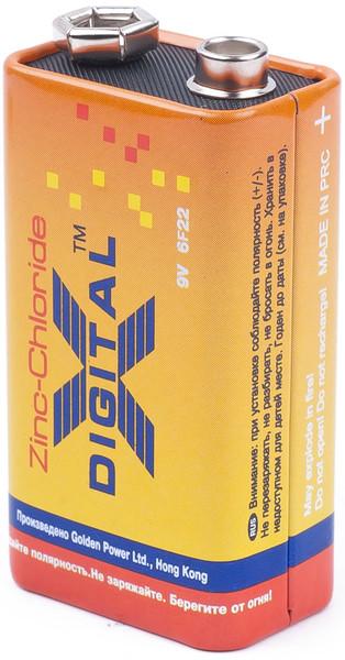 Батарейка X-Digital 6F22 1шт/уп