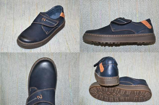 Школьные туфли мальчику, LC Kids фото