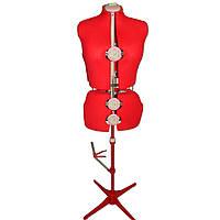 Манекен для шитья раздвижной 50-58 размер