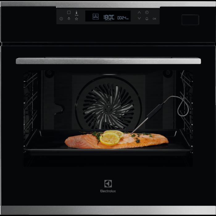Встраиваемая духовка с функцией паровой печи Electrolux KOBCS31X
