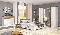 Спальня Маркос, продается комплектом и по модулям