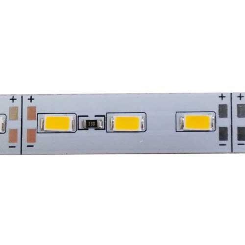 Светодиодная линейка BRT 24V 5630-72 led W 24W 6500K, IP20 белый со скотчем