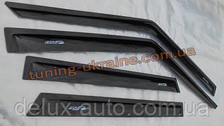 Дефлекторы окон (ветровики) ANV для Volkswagen Polo 5 2009-15 седан