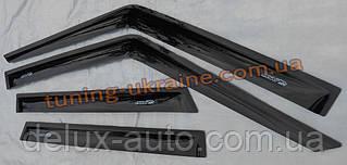 Дефлектор окон (ветровики ANV) для ВАЗ Lada Largus короткая
