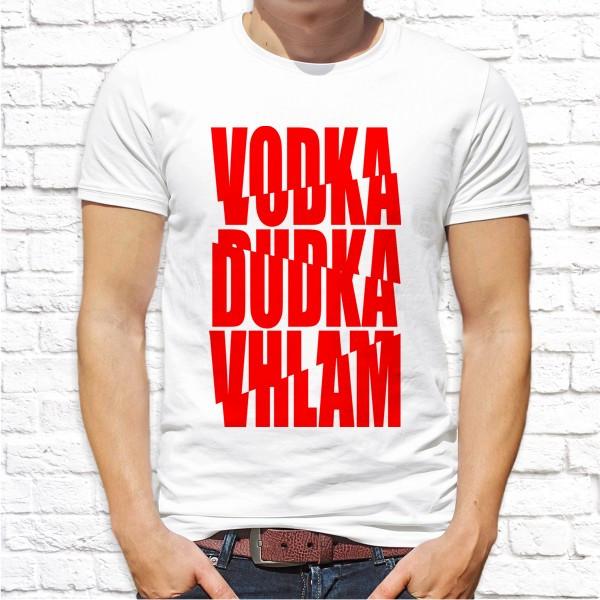 """Мужская футболка с принтом """"Vodka"""" Push IT"""