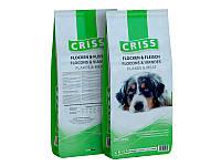 Корм Criss Flakes & Meat Крісс Пластівці і м'ясо для дорослих собак 20 кг