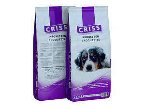 Корм Criss Croquettes Крісс Крокети для дорослих собак 20 кг