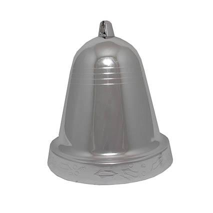 Пластиковое украшение колокольчик, 25см, пластик (030859)