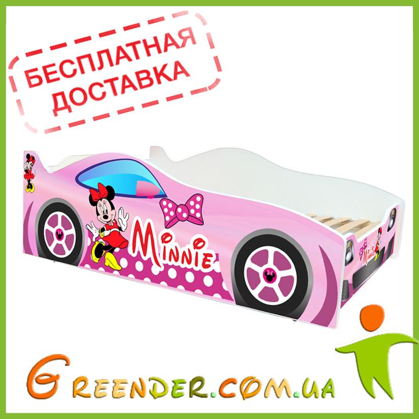 Детская кровать для девочки Evolution Minnie (доставка бесплатная!)