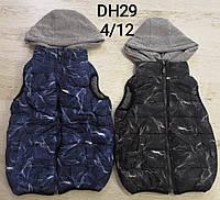 Жилетка на меховой подкладке для мальчиков Sincere оптом, 4-12 лет., фото 1