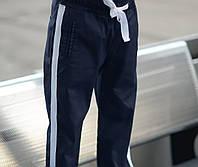 Детские стильные брюки для мальчика 100% турецкий коттон размер: 122,128,134,140,146