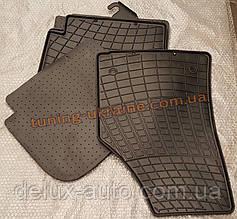 Коврики в салон резиновые Stingray 4шт. для Mercedes C W204 2006-2014