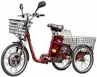 Электровелосипед трехколесный грузовой VEGA HAPPY 2019 (трицикл) + реверс + Lithium аккумулятор