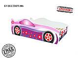 Детская кровать машина для девочки Evolution Pink (доставка бесплатная!), фото 2