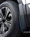 Брызговики MGC Honda CR-V Америка Европа (Хонда ЦРВ) 2017-2021 г.в. комплект 4 шт 08P00-TLA-100, фото 6