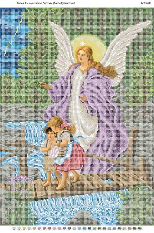 Вышивка бисером ангел хранитель схема