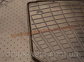Коврики в салон резиновые Stingray 3шт. для Nissan Primastar 2002 BUDGET