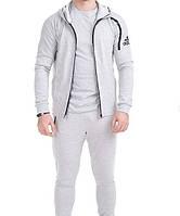 Спортивный стильный костюм мужской adidas в отличном качестве. реплика
