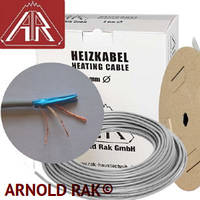 Двужильный нагревательный кабель Arnold Rak 61xx-15 ЕС