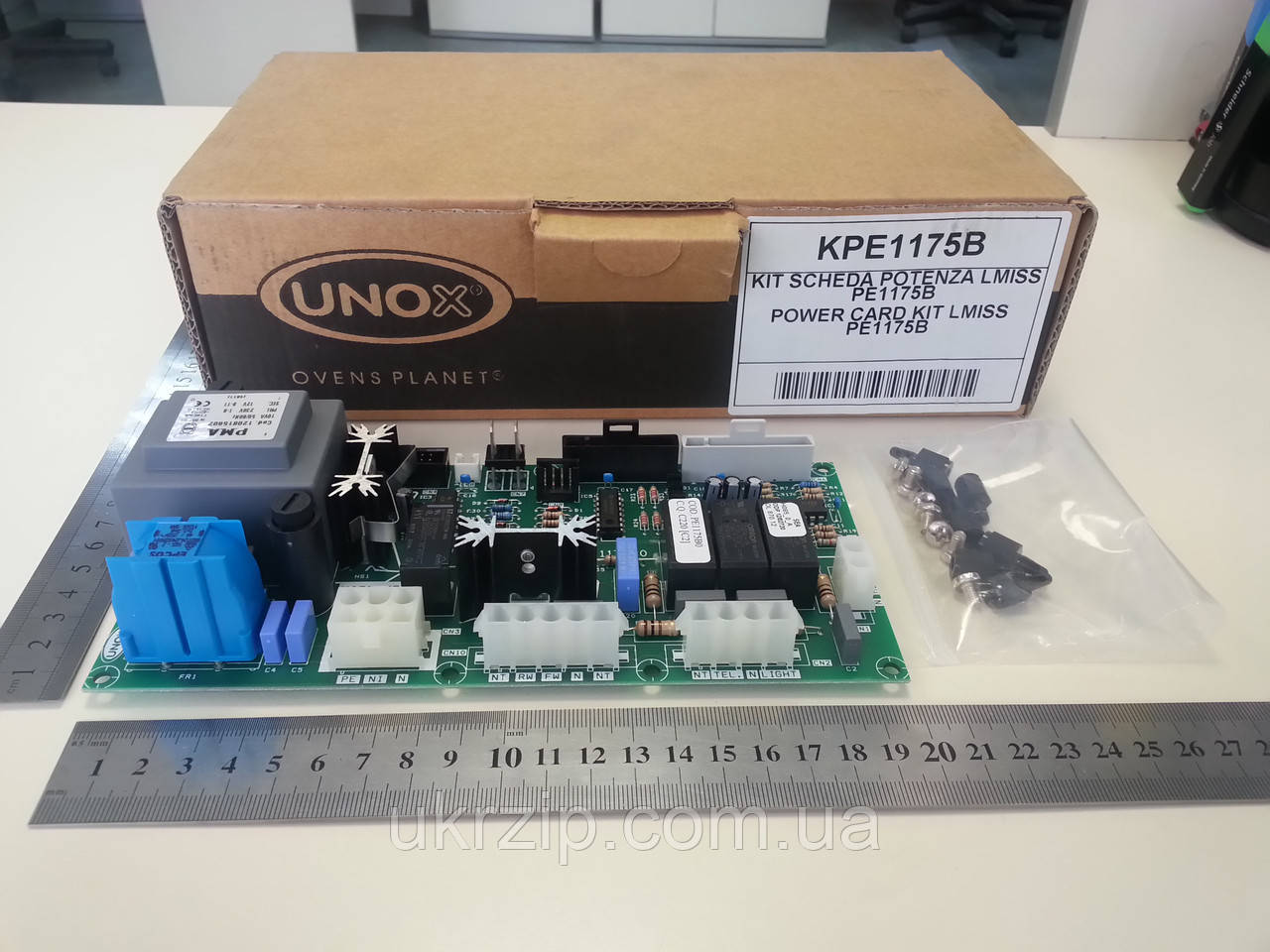 Плата силовая PE1175, KPE004 для печей Unox LineMiss XF135-185-195