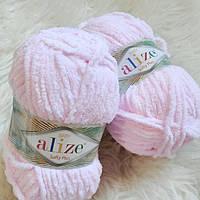 Пряжа Alize Softy Plus цвет детский розовый №31