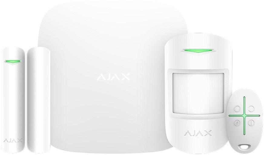 Комплект сигнализации Ajax StarterKit Plus (HubKit Plus) white