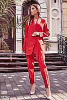 Брючный женский костюм, в деловом стиле S M