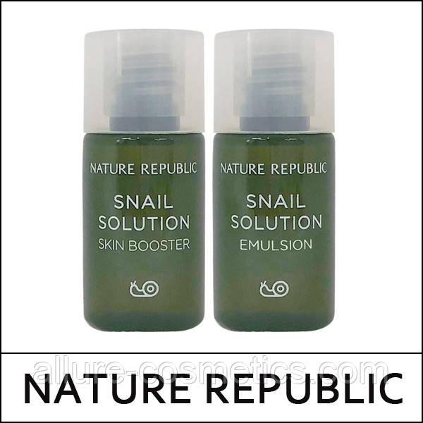 Тоник NATURE REPUBLIC Snail Solution Skin Booster 5мл