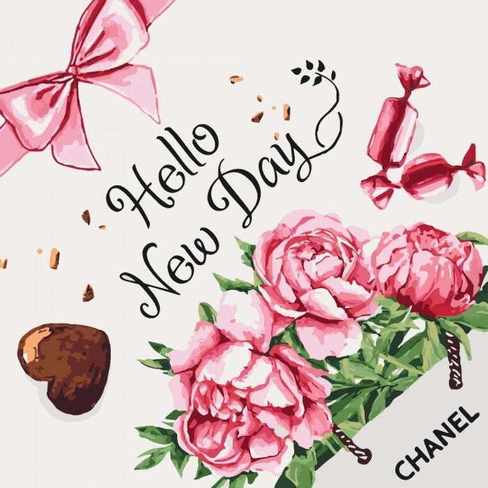 Картина по номерам Идейка - Hello new day 40x40 см (КНО5525)