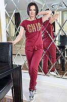 Женский спортивный костюм с декором, фото 1