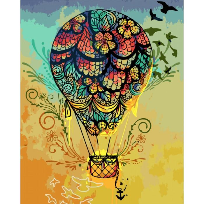 Картина по номерам Идейка - От мечты к открытию… 40x50 см (КНО5508)