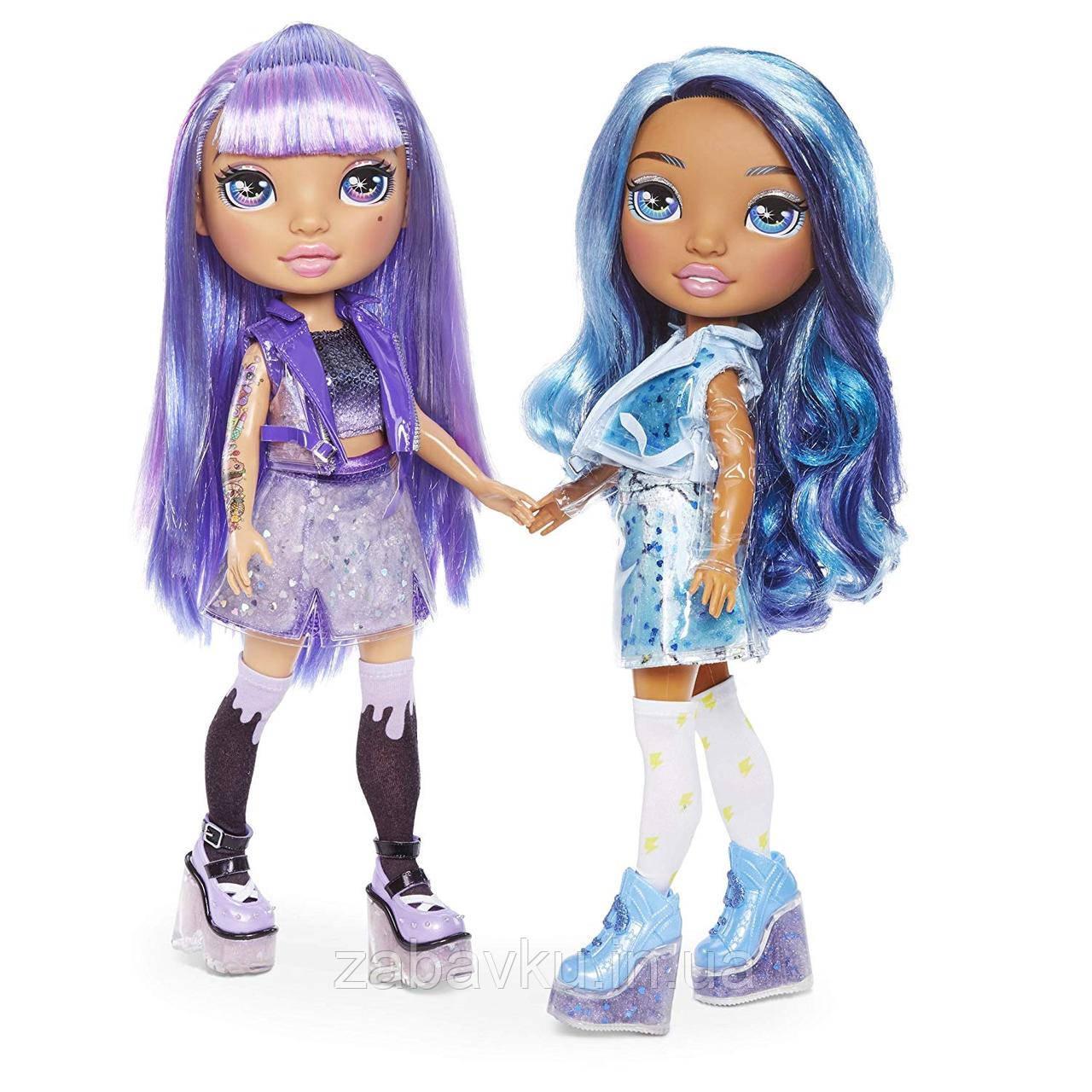 Лялька пупсі Poopsie Rainbow Surprise Dolls Amethyst Rae or Blue Skye
