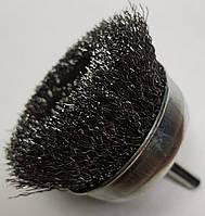 Щетки по металлу для дрели чашечная гофрированная 50х 6