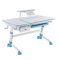 Дитячий стіл Amare з висувним ящиком + полиця для книг SS16