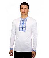Мужская вышитая футболка крестиком «Народная», фото 1