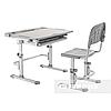 Комплект парта + стул трансформеры Cubby DISA GREY