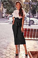 Стильная юбка с высокой талией,2 цвета L, фото 1