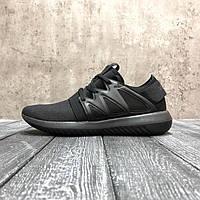 Стильные Кроссовки Adidas Tubular Radial черные Премиум Брендовые Модные Адидас реплика 36 37 38  39 42 43р