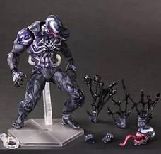 Большая коллекционная фигурка Веном. Фигурка-игрушка Симбиот Venom 25см!, фото 3