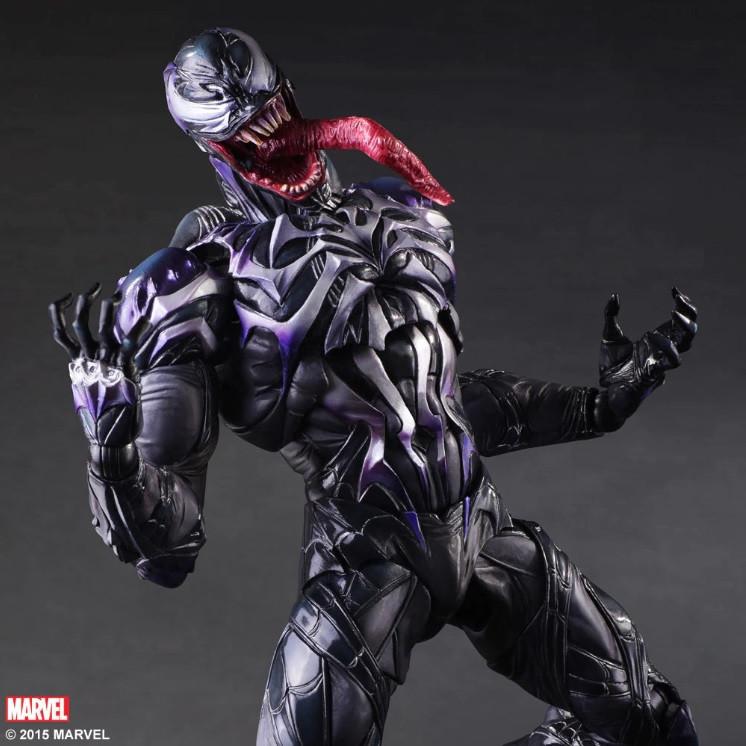 Большая коллекционная фигурка Веном. Фигурка-игрушка Симбиот Venom 25см!