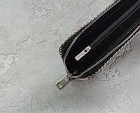Клатч из кожи морского ската EkzoticLeather Черный (sb09)
